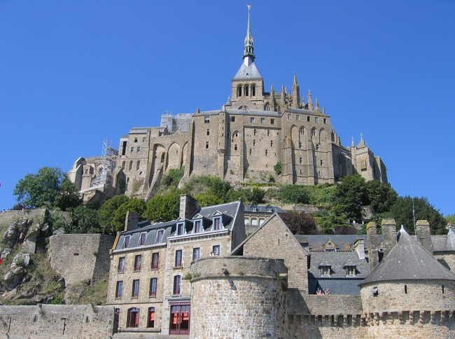 Vue sur le Mt St Michel